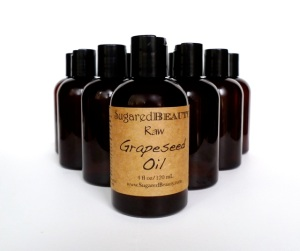 Grapeseed oil, natural face moisturizer